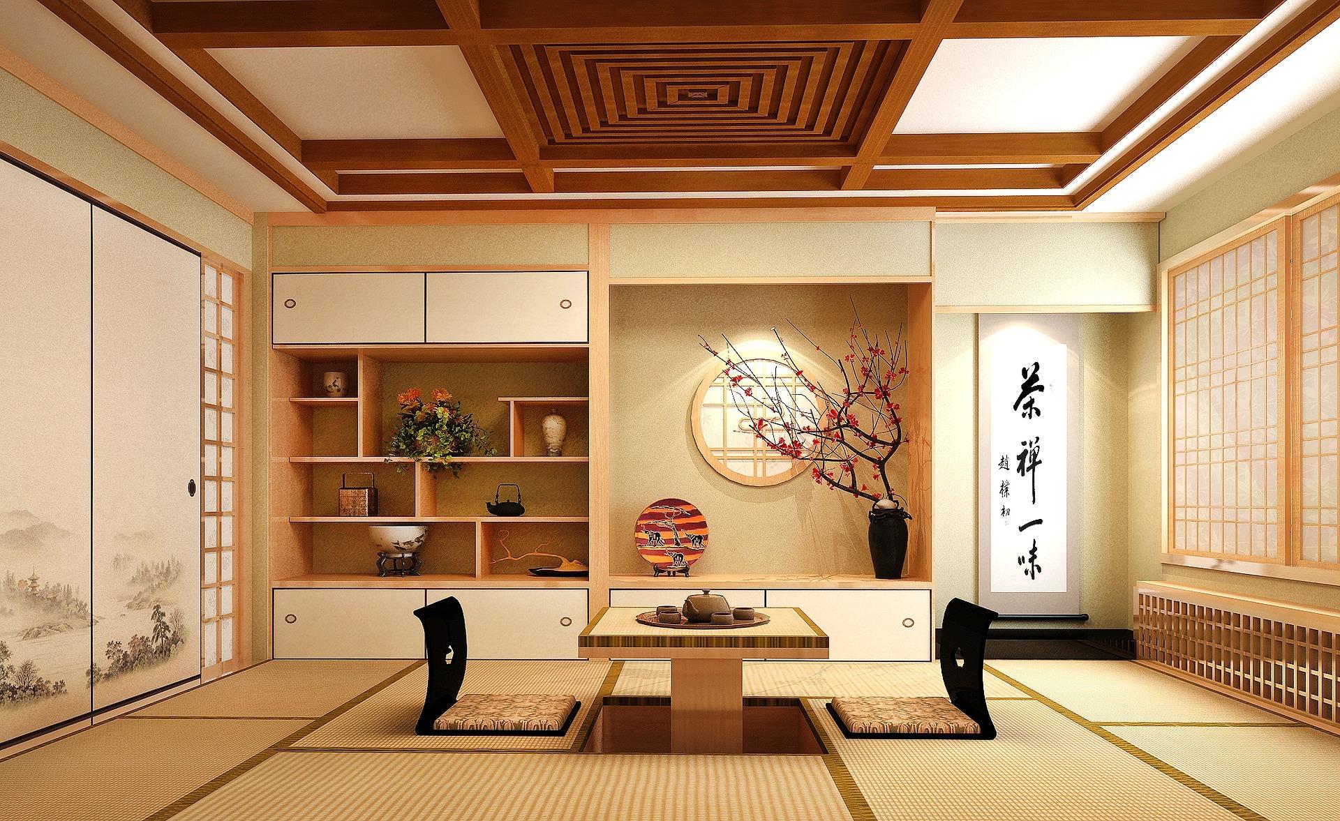 estancia-interior-japonesa-predominan-los-materiales-naturales-como-en-el-hogar-sostenible