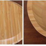 BAMBOO Platos redondos de bambú