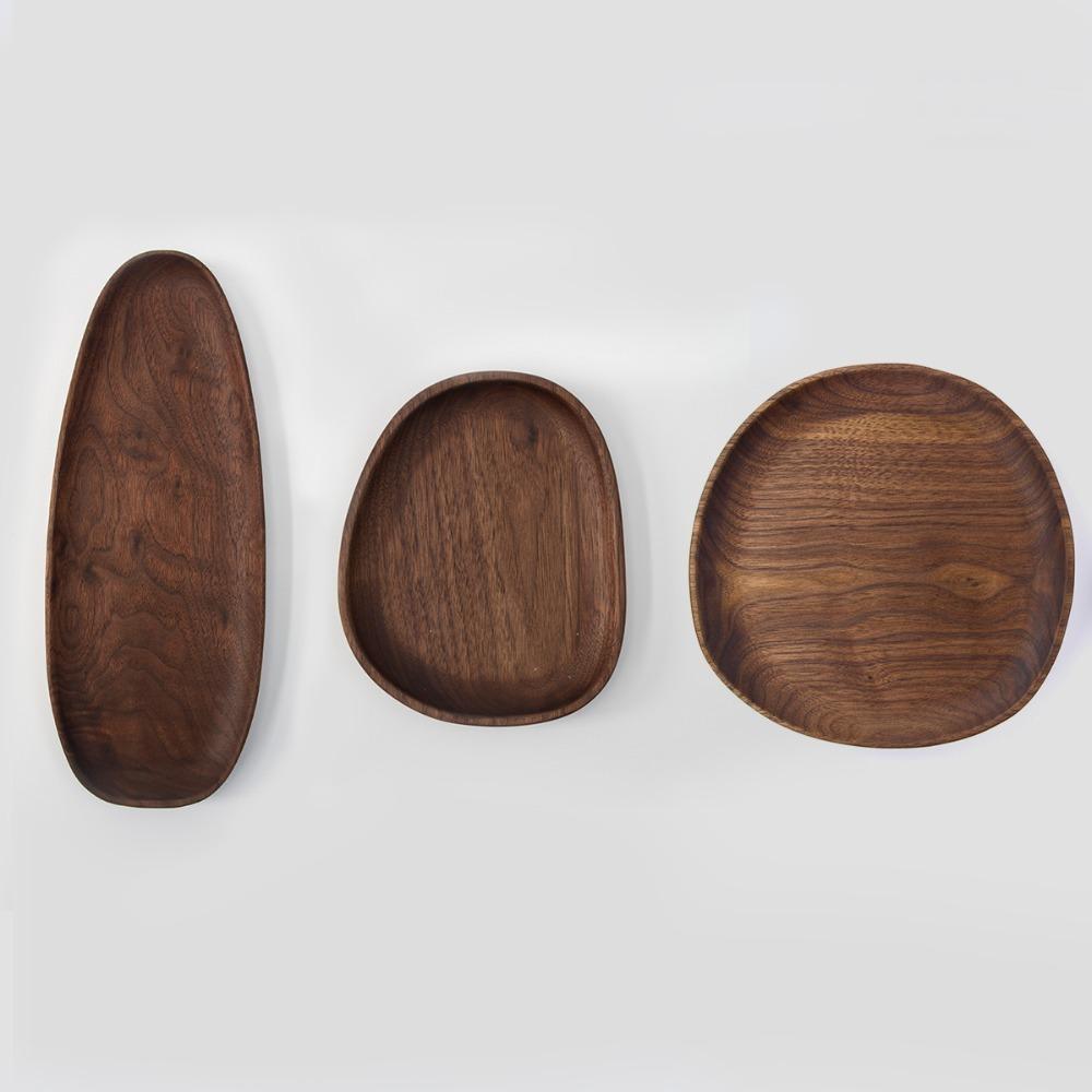 UME Fuente de madera de nogal