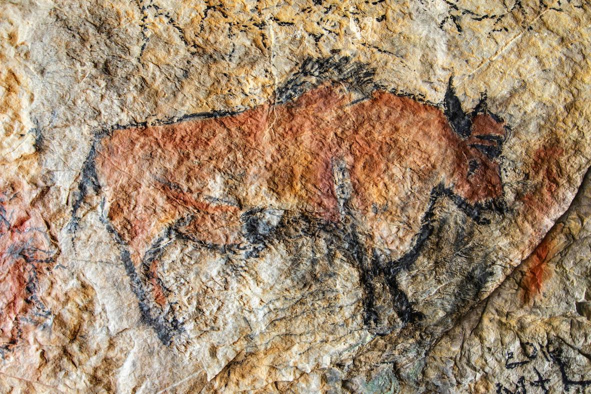 pintura-prehistorica-en-cueva