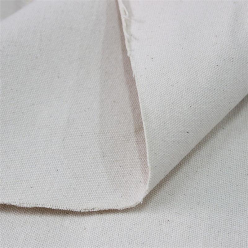 Algodón blanco gris tela mayor engrosamiento lienzo pintura lienzo tela Industrial lienzo de tela hecha a mano