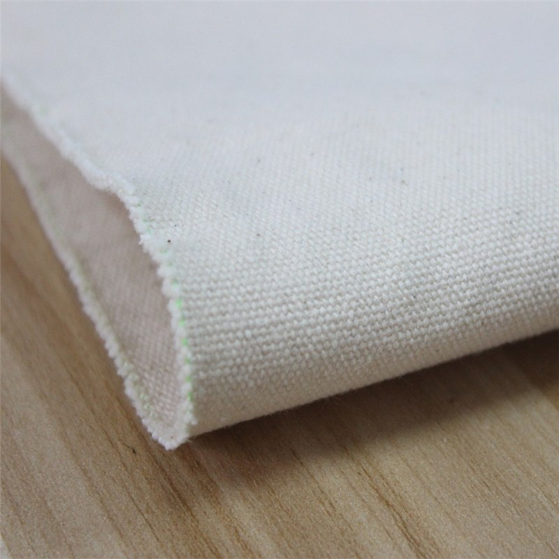 Algodón blanco gris tela mayor engrosamiento lienzo pintura lienzo tela Industrial lienzo de tela hecha a mano 2